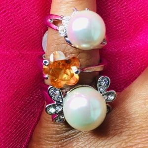 Jewelry - Various Style Rings - Size 9